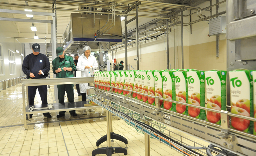 Nearly two million litres of TO juices producedin three months